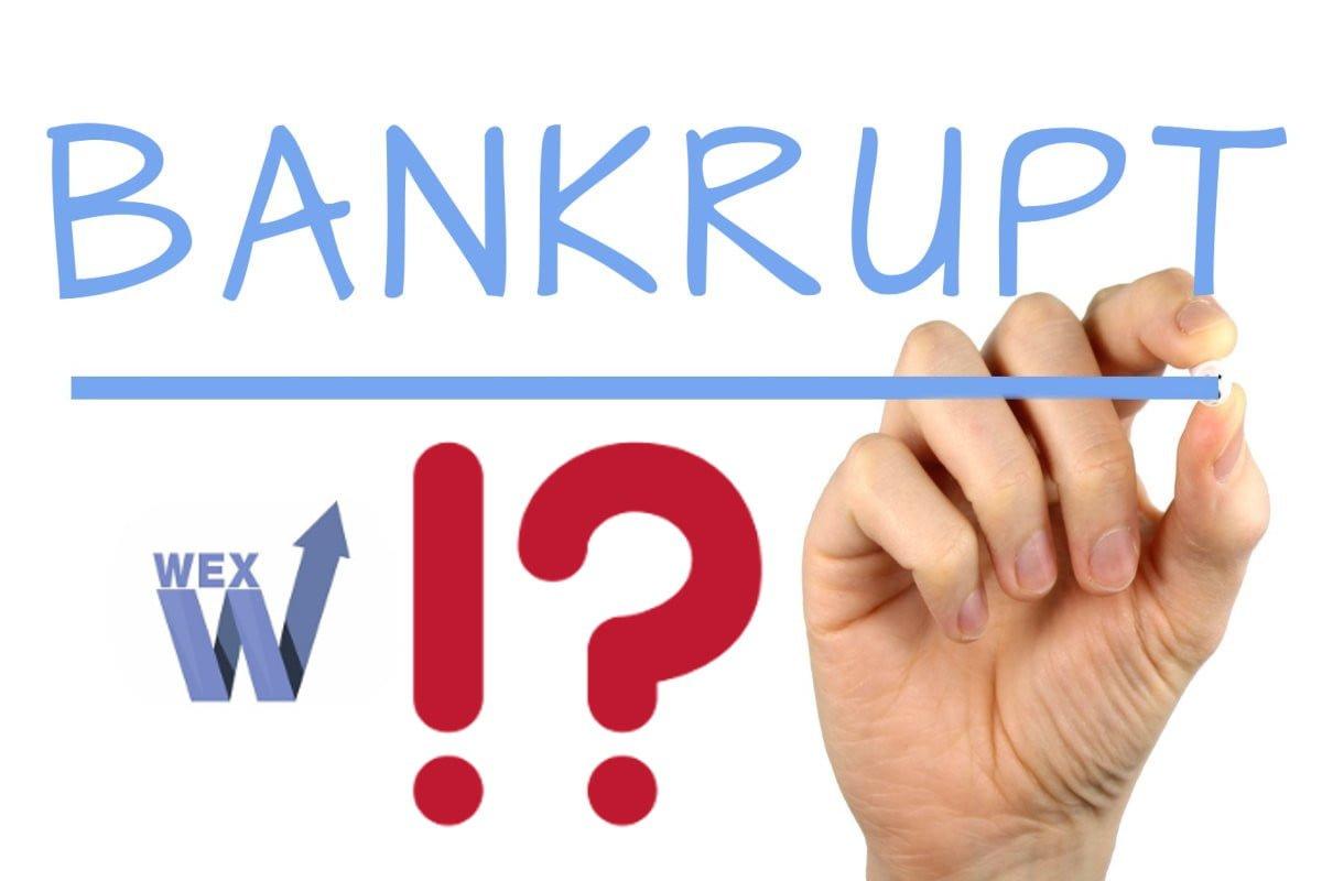 wex bankrupt