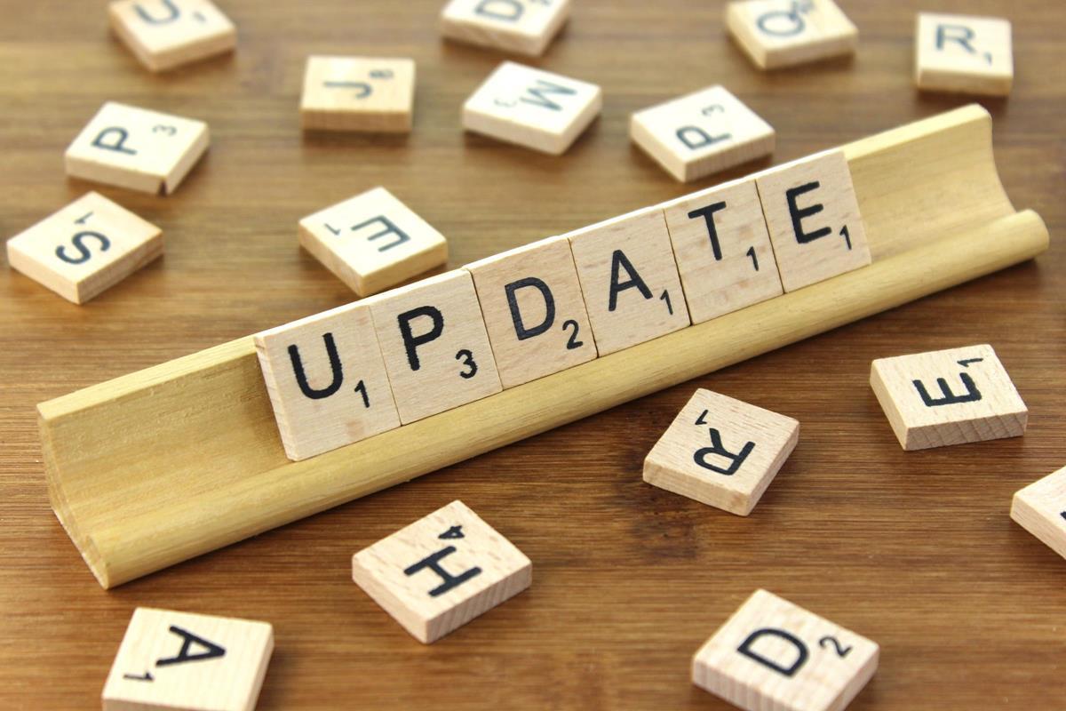 update przerwa techniczna