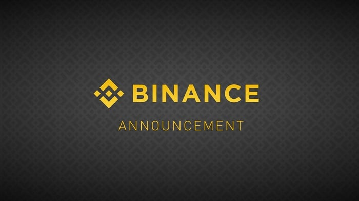 binance delist