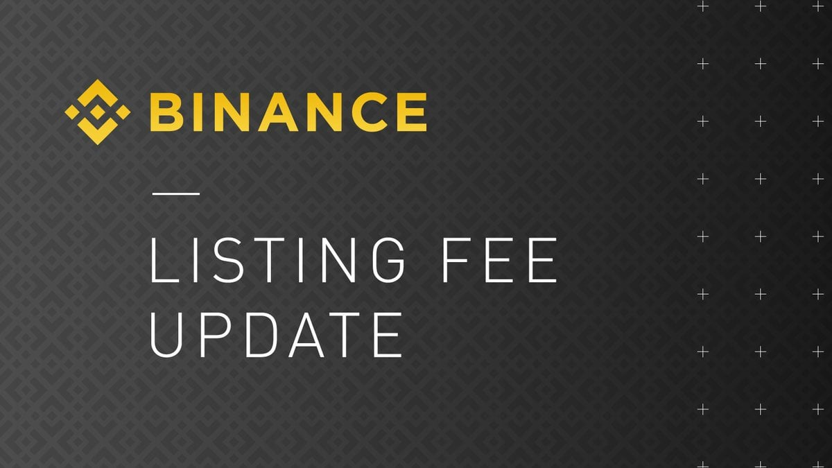 binance fee update