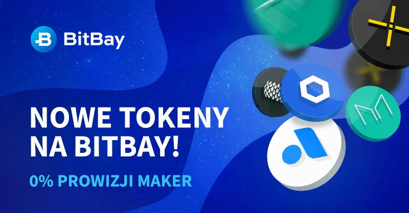 bitbay nowe tokeny