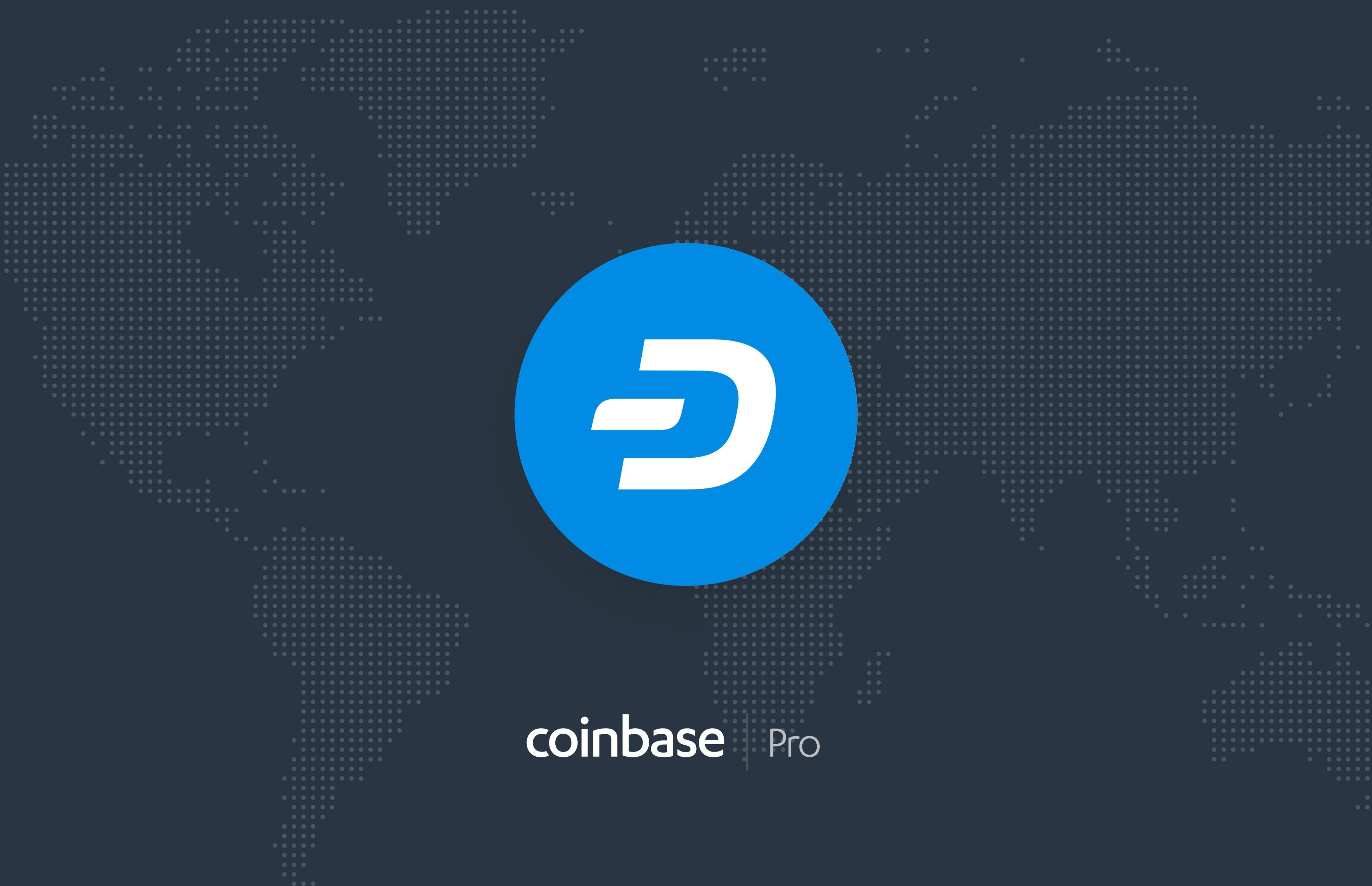 dash coinbase pro