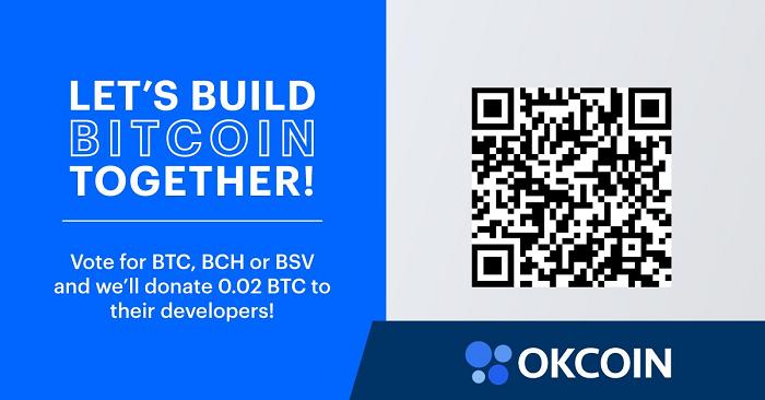 okcoin głosowanie na deweloperóww bitcoina