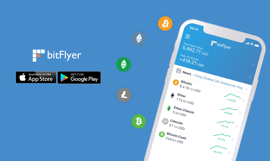 bitflyer app