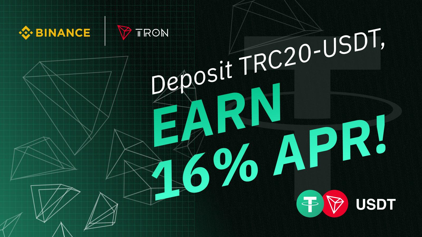 tron usdt binance