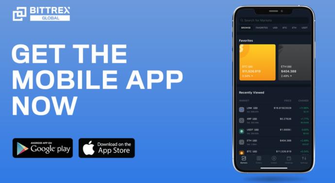 aplikacja bittrex