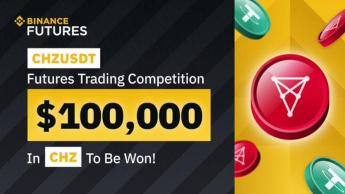 Konkurs na CHZUSDT Binance Futures - do wygrania 100 000 $