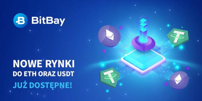 nowe rynki usdt eth bitbay