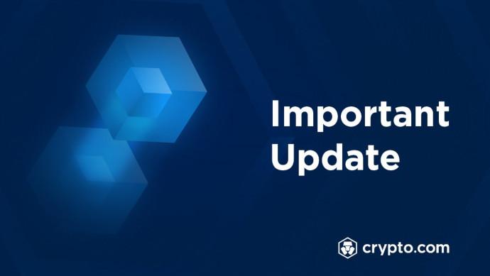 crypto.com ważna wiadomość