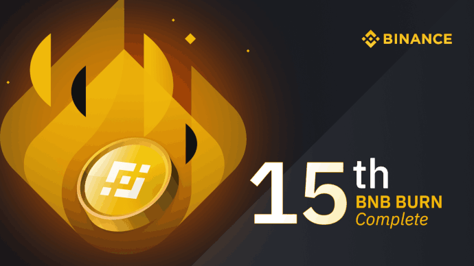 binance bnb burn 15