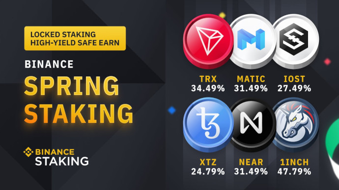 binance spring staking