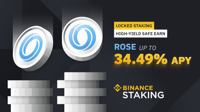 rose staking binance