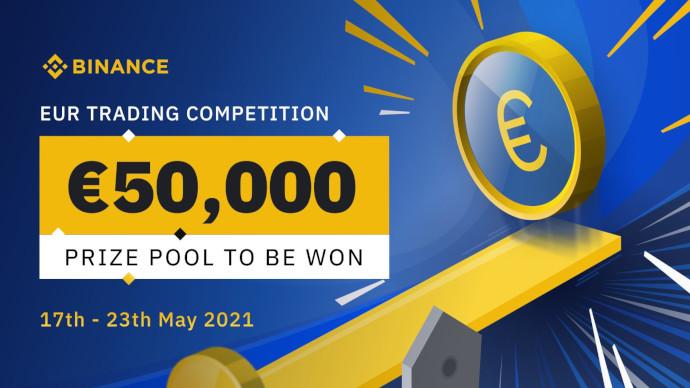 Konkurs handlowy w EUR na Binance