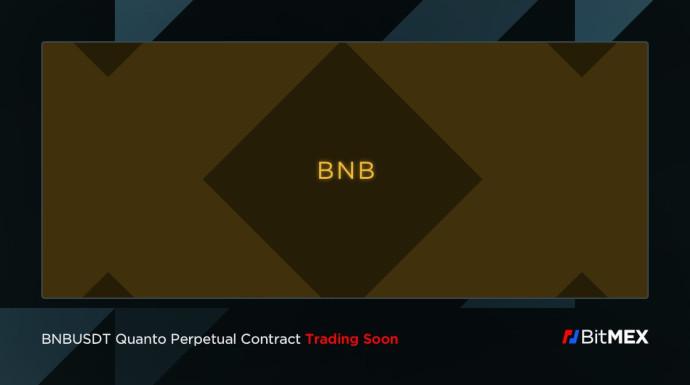 BitMEX dodał kontrakty na BNB