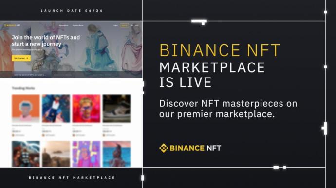 Platforma Binance NFT wystartowała