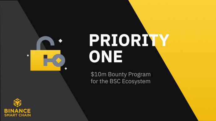Binance Smart Chain uruchamia Bug Bounty o wartości 10 mln $