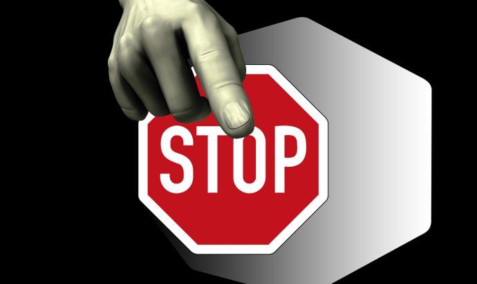 stop binance