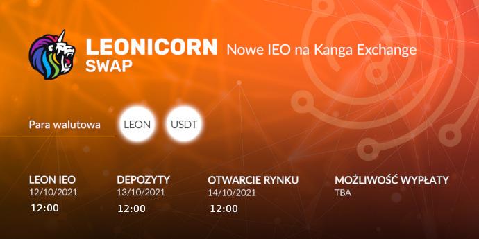 Nowe IEO na Kanga Exchange