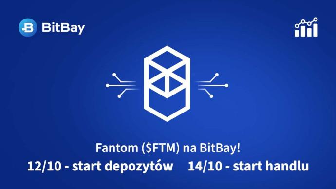 BitBay uruchomi handel Fantom (FTM)