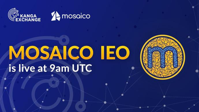Kanga sprzedała token Mosaico w 60 sekund