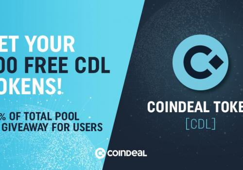 CoinDeal rozdaje darmowe tokeny